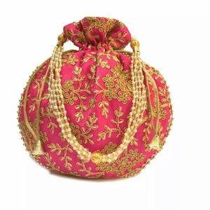 Indian Party wear clutch / Potli bag